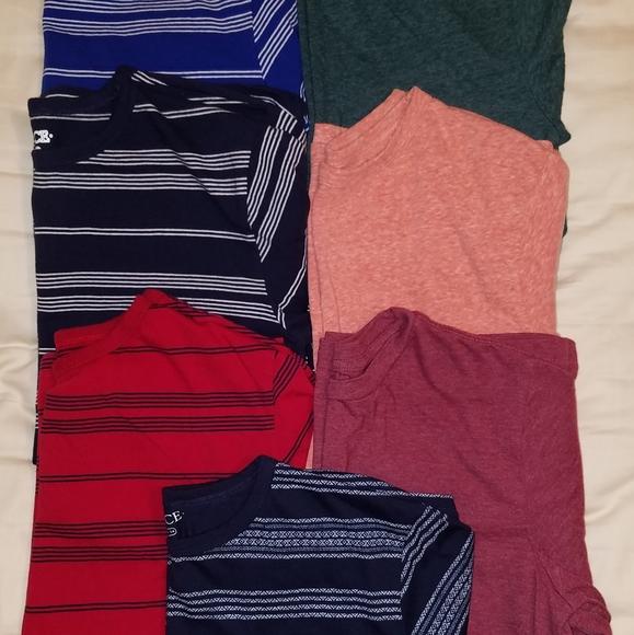 7 Boys T shirts size 14
